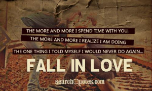 Cute Falling In Love Quotes & Sayings