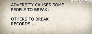 ... causes some people to break;others to break records ... , Pictures