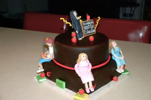 teacher appreciation this cake was made for a middle school teacher ...
