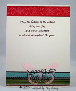 Christmas card sayings, christmas card verses, greeting cards sayings ...