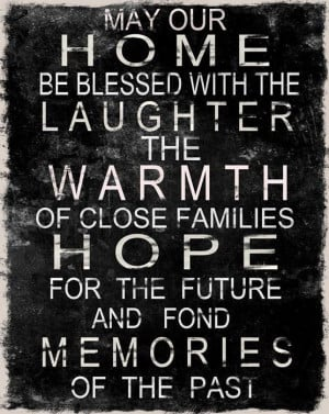 Home Family Blessing Quotes...