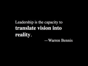 Warren Bennis #inspirational #quote on leadership