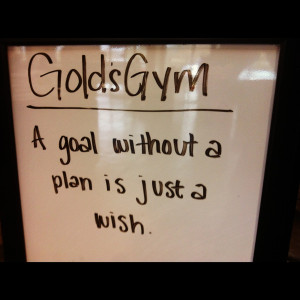 there are a lot of great quotes regarding goal setting and planning ...