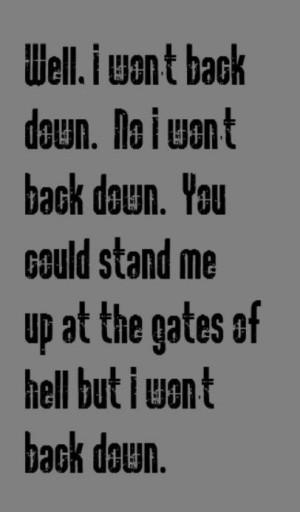... Quotes, Songs Lyrics, Music Lyrics, Tom Petty Lyrics, Favorite Quotes