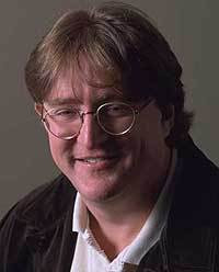 Gabe Newell.