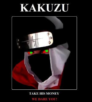 Kakuzu Motivational Poster by ZiggyZamfir