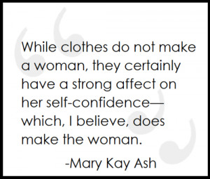 fashion quotes #mary kay ash