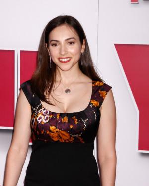Eden Riegel Arrives The Red Carpet Year One Movie Premiere