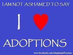 am not ashamed i love adoption more tummy adoption adoption quotes ...