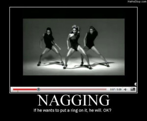 Beyonce Nagging Put a Ring on It Motivational