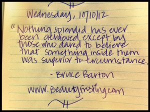 Quote Book: Wednesday, 10/10/12