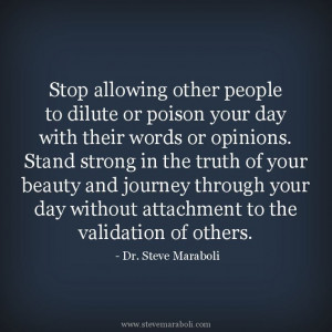 stand strong in your truth