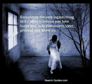 Its So Hard Leaving Someone You Love Quotes