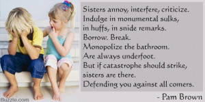 Quote about Sister