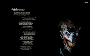 Quotes Joker Batman DC Comics