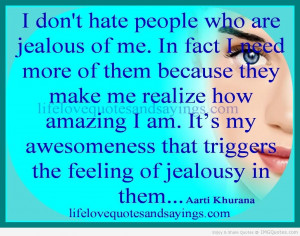 Jealousy Quotes HD Wallpaper 3