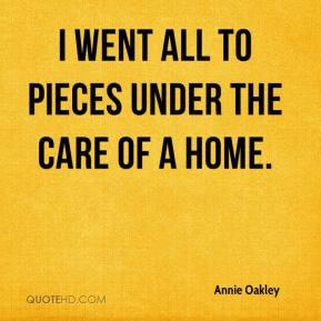 Annie Oakley Quotes