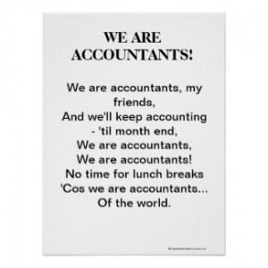 We Are Accountants Poster