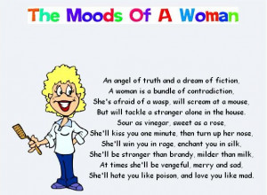 Joke Emails - Moods of a Woman and a Man