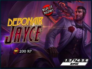Debonair Jayce Skin Release