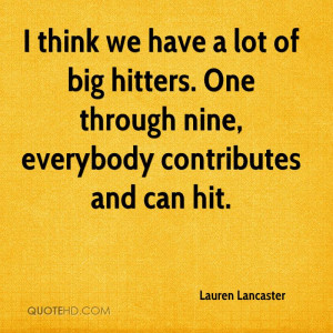 Lauren Lancaster Quotes | QuoteHD