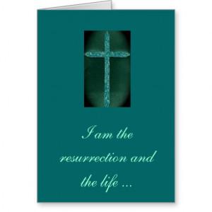 Religious Condolence Card