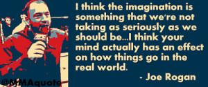 Joe Rogan on Imagination