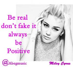 Miley Cyrus Quotes 2014