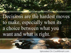 quotes about making choices