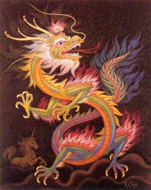 Asian DragonsAre Elusive And Rare .