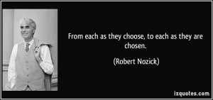 More Robert Nozick Quotes