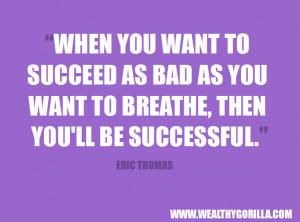 famous eric thomas quotes