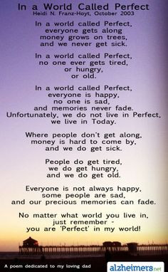 Dementia care quotes and poems