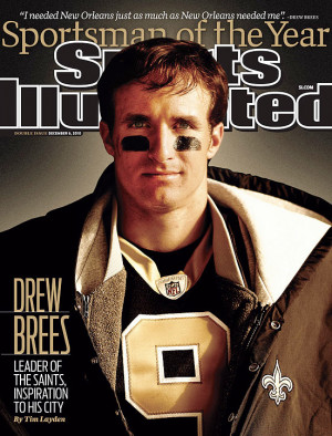 Drew Brees Sports Illustrated