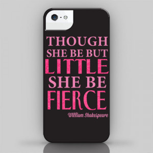 Little But Fierce iPhone Case