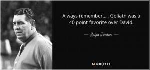 Ralph Jordan Quotes