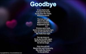 Good Goodbye Teacher Poems