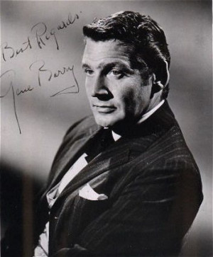 Gene Barry Bat Masterson...