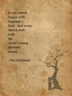 Quotes From The Alchemist ~ Inspirational quotes from The Alchemist ...