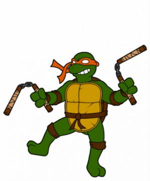 Michelangelo_(Teenage_Mutant_Ninja_Turtles) Wallpaper