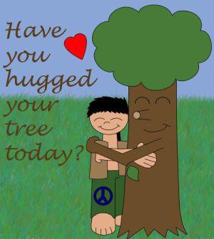 Tree Hugger by treehuggerplz