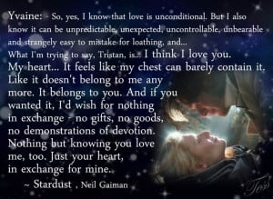 Stardust (2007) Neil Gaiman Quotes :