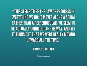 Quotes by Frances E Willard