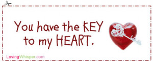 You Have the Key to My Heart Poem