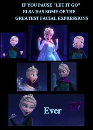 funny-Frozen-Elsa-paused-song-faces by mickeysteak
