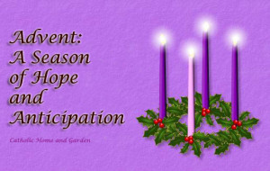 ADVENT I - ABBOT PAUL ON ADVENT