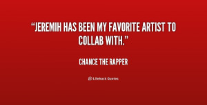 Chance The Rapper Quotes /quote-chance-the-rapper-