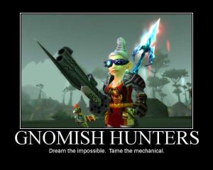 Thread: Gnome/Goblin hunters and fun additions