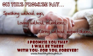 Valentines week- promise day-love quotes