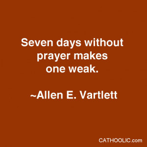 Prayer Quote Trials And...